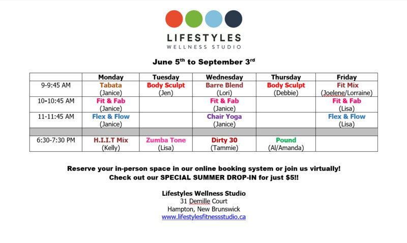 July Group Fitness