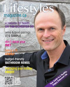 Orillia Lifestyles Magazine November December 2014 cover