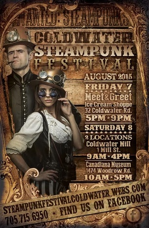 steampunk fest coldwater ontario