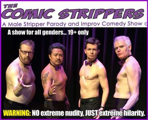 comic strippers live show