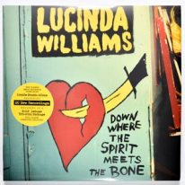 Lucinda Williams album, down where the Spirit Meets the Bone