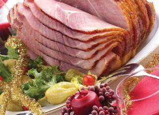 ham dinner for christmas
