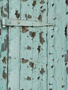 reclaimed wooden door
