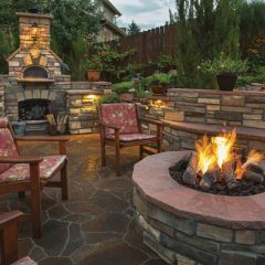 Cold weather outdoor entertaining