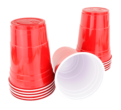 red cups party cups