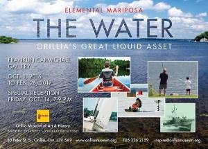 Elemental Mariposa: The Water @ Orillia Museum of Art & History    Orillia   Ontario   Canada
