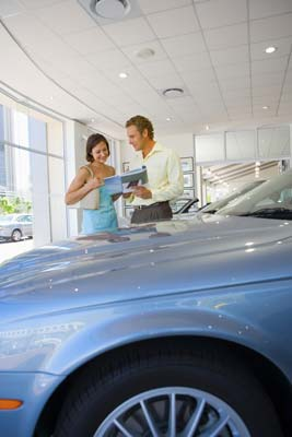 buying a used car at a dealership