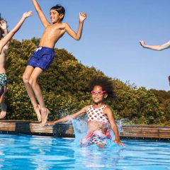 Safety in and around the pool