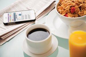 healthy breakfast busy life