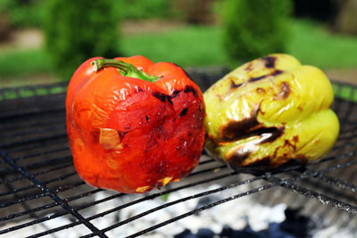 chicken recipe grilled peppers