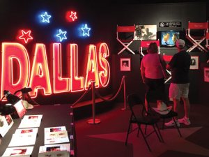 Dallas TV Show sign