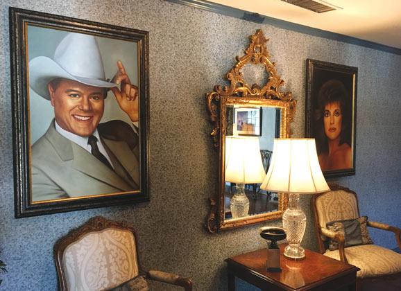 Dallas TV Show portraits