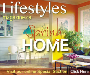 Spring Home Lifestyles special section magazine