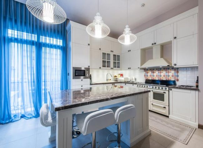updated kitchen design, white