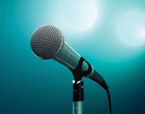 microphone for speakers, singers and entertainers