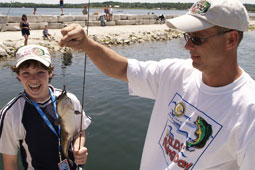35th Annual Kids Fishing Day @ Barrie Waterfront - Heritage Park   Barrie   Ontario   Canada