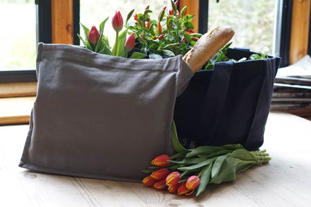 re-useable grocery bags