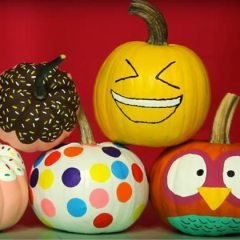 Four Cute Ways To Paint A Pumpkin