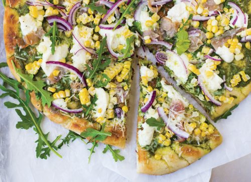 grilled pizza BBQ pizza