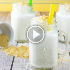 How to Make Coconut Cream Pie Milkshakes