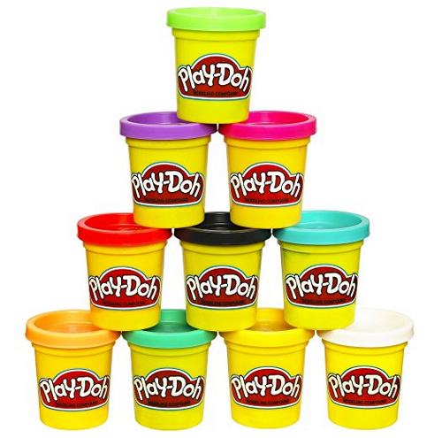 play dough ten pack