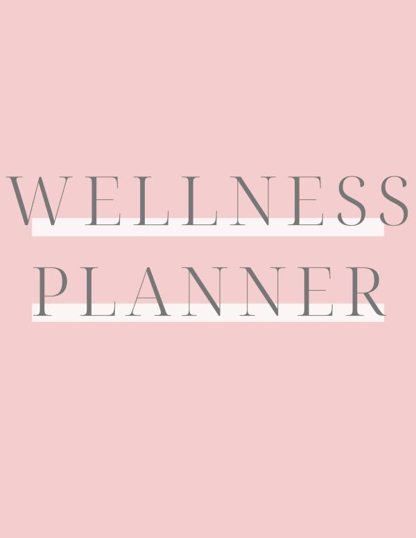 Wellness Planner Title