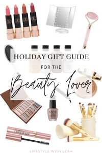Holiday Gift Guide Beauty Lover