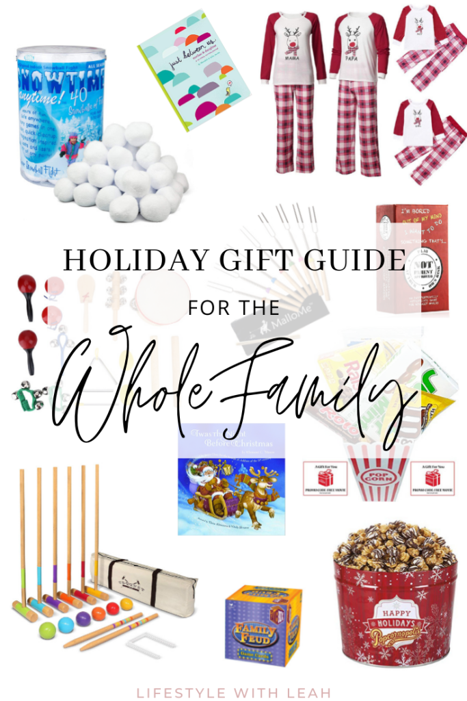 Holiday Gift Guide Family