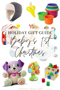 Holiday Gift Guide - Baby's First Christmas