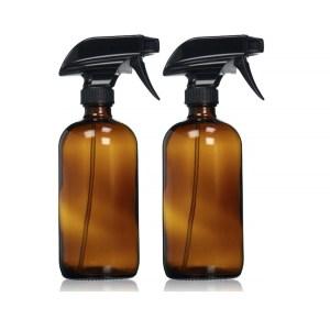 Amber Spray Bottles