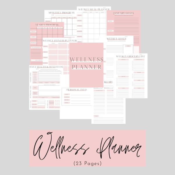 Small Wellness Planner Cover