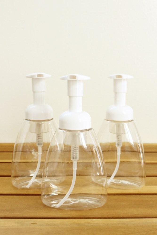 foaming hand soap bottles