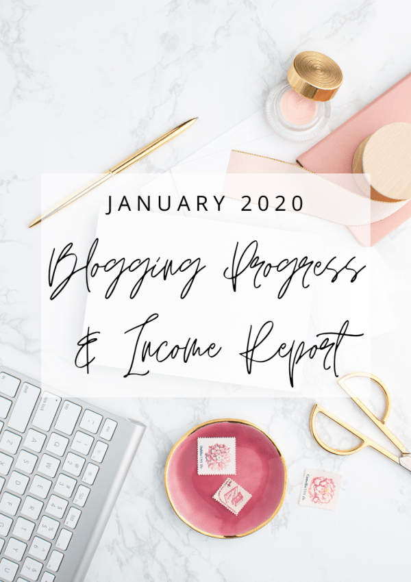 January 2020 Blog Progress and Income Report