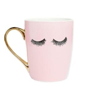 Eyelash Coffee Mug