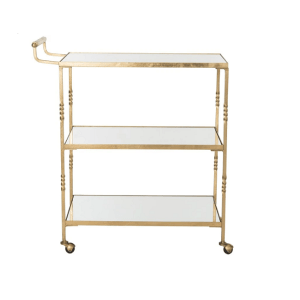 Aurelius Bar Cart - Gold