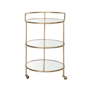 Dulcinea Bar Cart - Gold