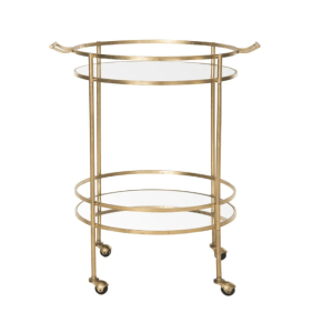 Lavinia Bar Cart - Gold