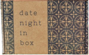 Date Night in a Box anniversary gifts
