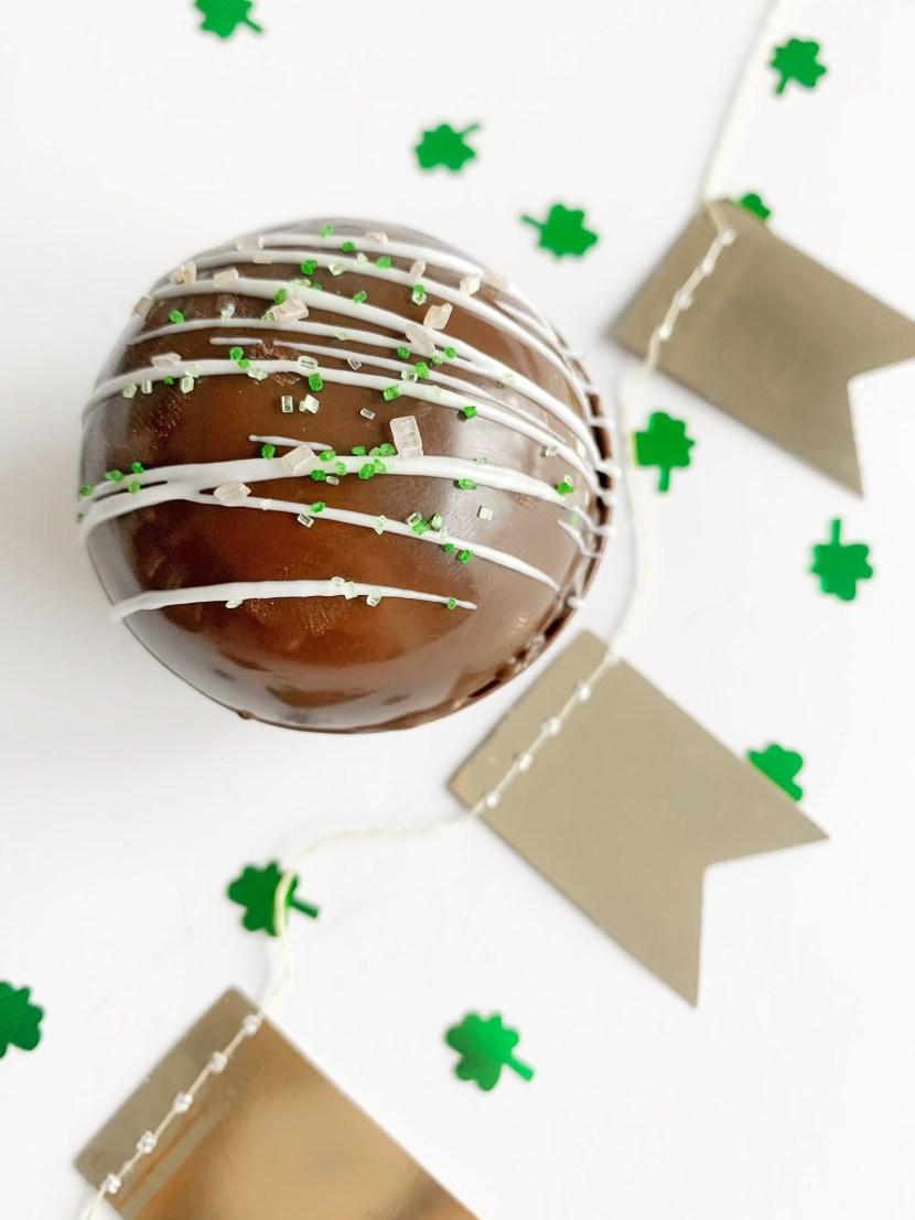 Bailey's Irish Crème Hot Chocolate Bomb