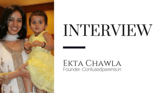 Mom Blogger Interview Feature- Ekta Chawla