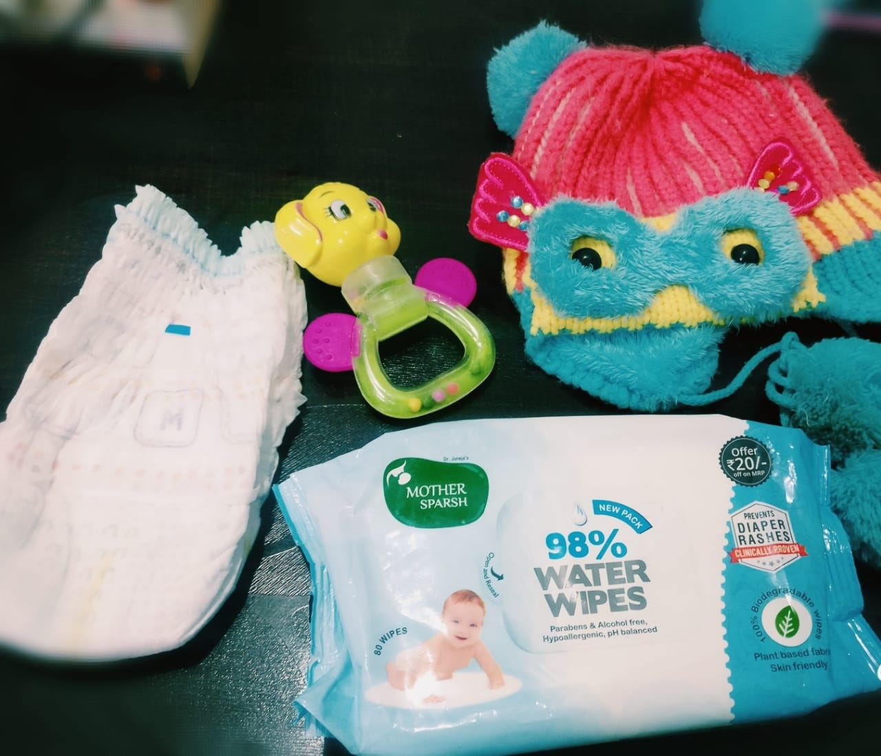 My First Time Experience with India's First Water Wipes