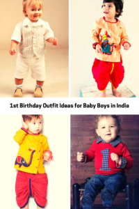 1st Birthday Outfit Ideas For Baby Boys In India