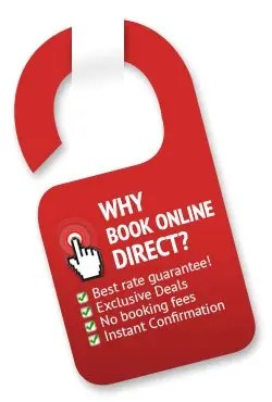 book directly to the website to enjoy  Benefits Of Direct Booking