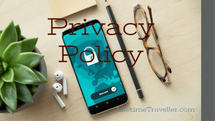 Privacy Policy of lifetime traveller