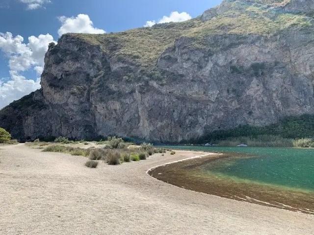 marinello lakes nature reserve in Tindari