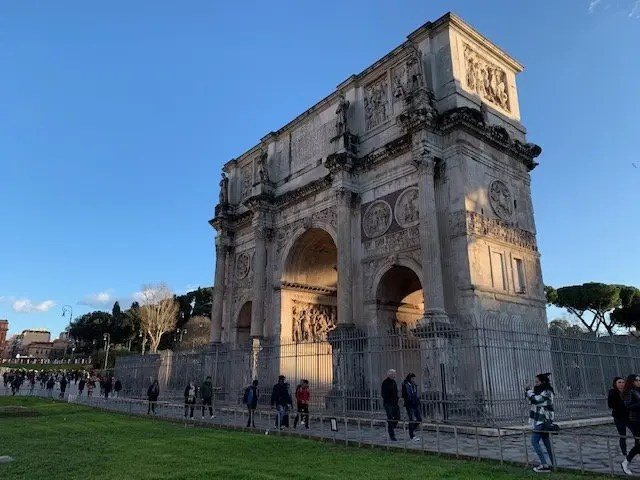 arch of constantine, best things to see in Rome, Italy