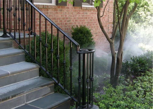 Handrail Installation Iron Handrail Metal Handrail Stairway Railing | Safety Rails For Outside Steps | Stair Handrail | Wrought Iron | Steel | Front Porch | Deck Railing