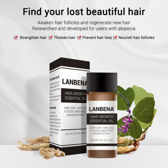 lanbena hair growth essential oil price in bangladesh