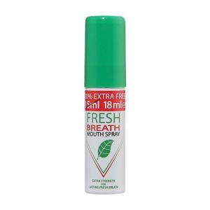 fresh breath mouth spray