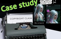 Copyright infringement by a company [Case study]